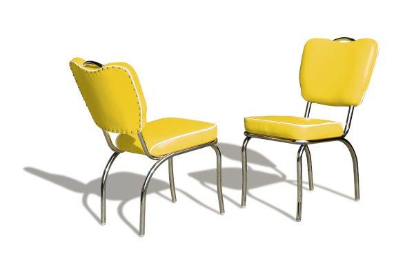 Chaise diner 4 pieds avec poignée