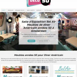 Boutique fifties en ligne pour les meubles Bel Air des années 50