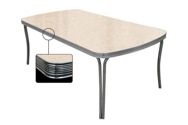 Table rectangulaire arrondi grande