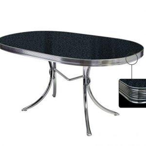 Table salle à manger ovale 150cm