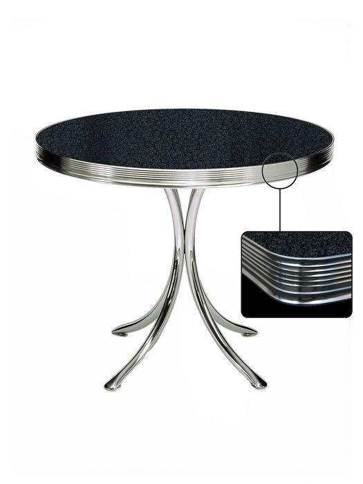 Table ronde de terrasse