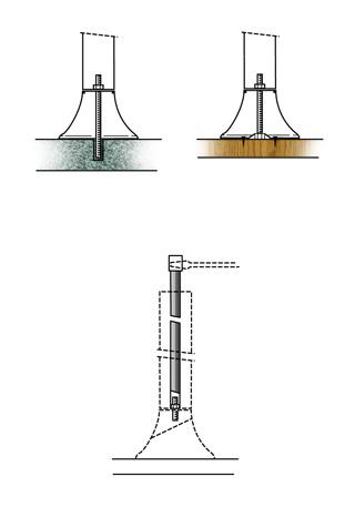Clé pour ancre de sol