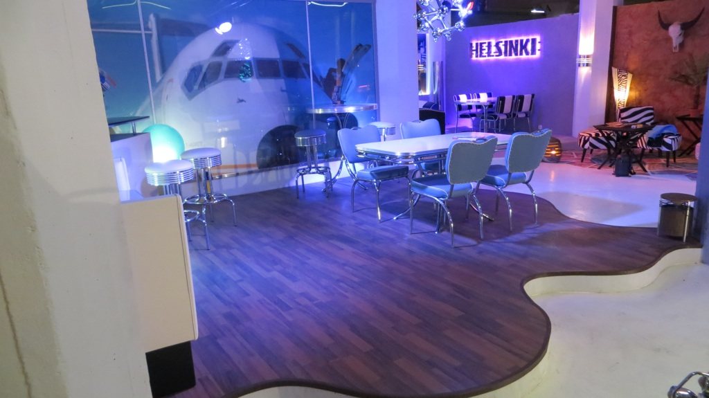 bel air vintage lounge meublé années 50 Bel Air à Helsinki