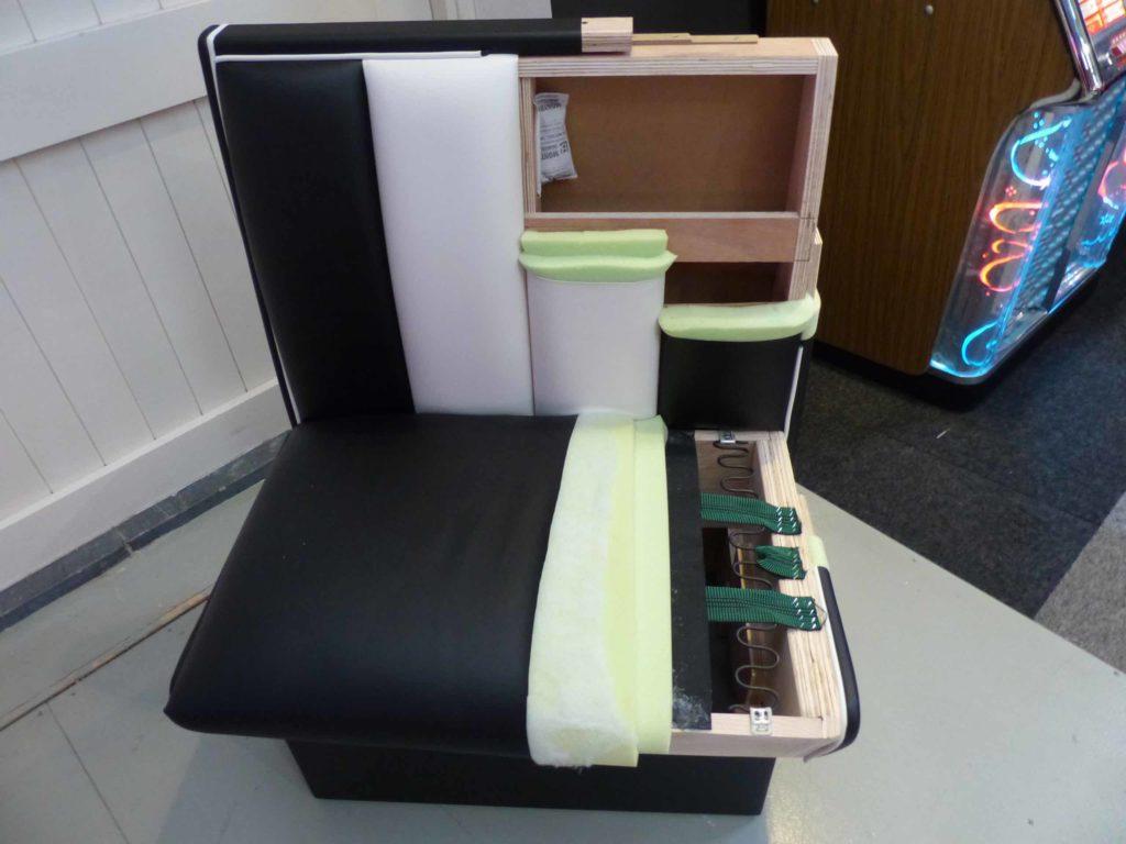 Fabrication de meubles années 50 exploded view