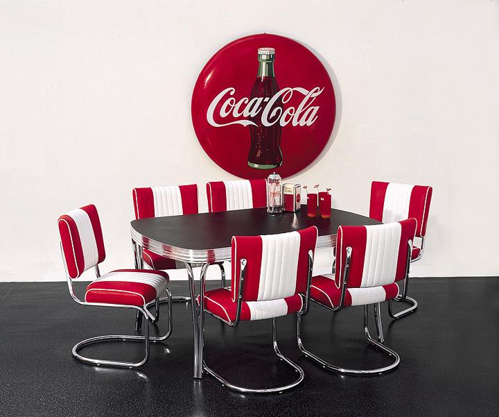Bel Air, répliques authentiques de chaises années '50
